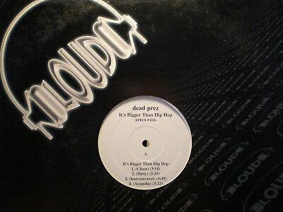DEAD PREZ - IT'S BIGGER THAN HIP-HOP / HIP-HOP (12