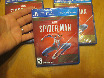 Spider-Man PS4 Sony PlayStation, 2019, Game of the Year Edition NEW SEALED