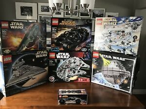 Amazing Lego Collection Star Wars   10179   10030  10143