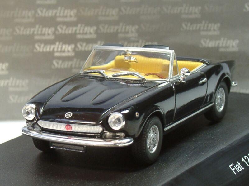 Starline Fiat 124 Spider, 124 Sport, schwarz - 1:43