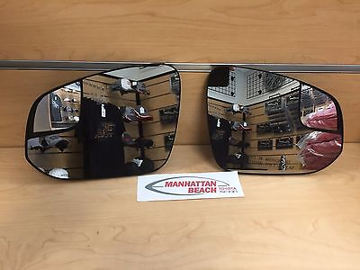 14-18 4RUNNER GENUINE TOYOTA SIDE VIEW MIRROR GLASS UPGRADE SET OEM NEW!