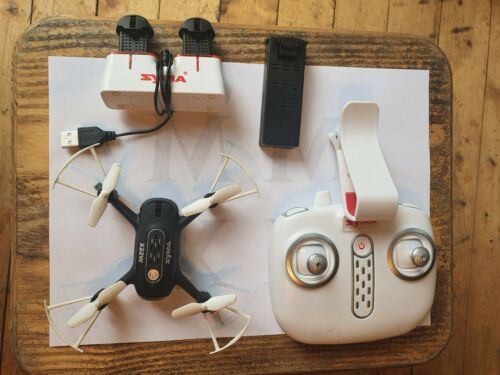 Syma Mini X22W 2.4G FPV WIFI HD Camera RC Drone W/ Hover App Control Headless BB