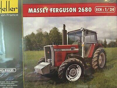 1982 Massey Ferguson 2680 1:24 Heller 81402 Neu 2018
