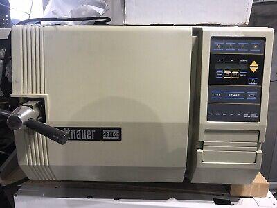 Tuttnauer Autoclave Steam Sterilizer 2340e Read Description