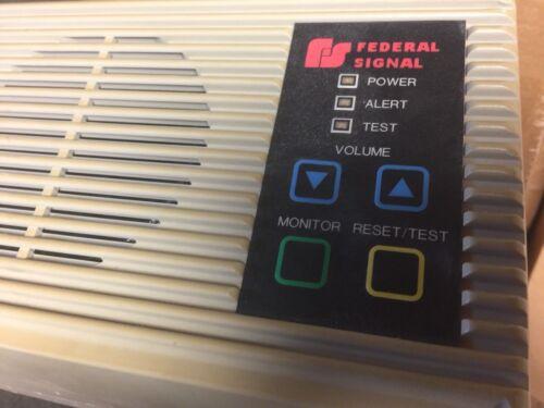 Federal Signal Informer Emergency Tone Alert Radio Receiver I-U UHF 450-470 MHZ