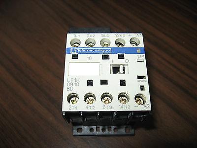 Telemecanique Lp1k0910bd Relay With Cv2-af01 24 Volt