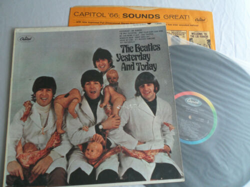 The BEATLES__Original 3rd STATE__BUTCHER ALBUM__Awesome Cover!!!! __EX