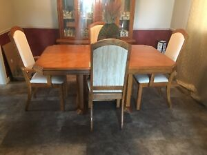 Dining Set with Hutch all for 300$