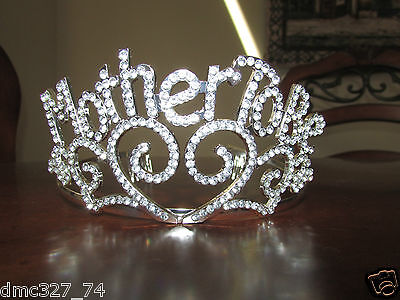Baby Shower Party Novelty Accessory New Mother MOM TO BE TIARA Crown - Novelty Crown