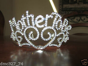 Baby Shower Party Novelty Accessory New Mother MOM TO BE TIARA Crown