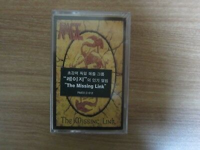 Rage - The Missing Link Korea Edition Cassette Tape BRAND NEW
