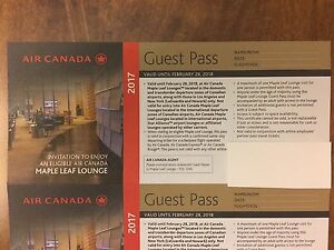 Maple Leaf Lounge Guest Pass