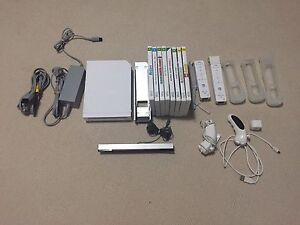 Wii Console + Bundle With Games Craigmore Playford Area Preview