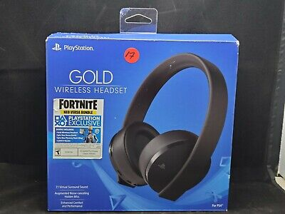 Sony Gold Wireless Stereo Headset, black for PlayStation 4 #17