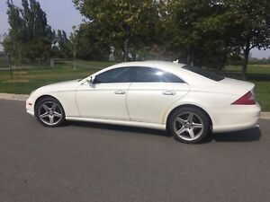 2008 CLS550 DIAMOND WHITE EDITION