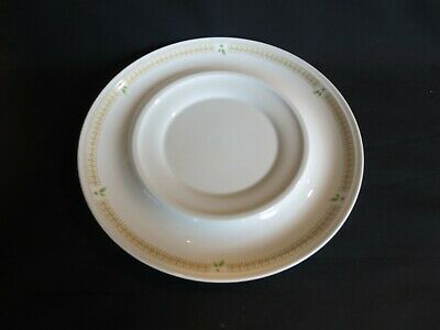 Mikasa Nature's Garden Bone China Underplate ONLY  for Gravy Boat EUC Natur Gravy Boat