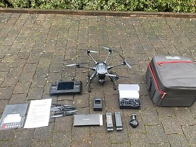 Yuneec Typhoon H Advanced Cgo3 St16 Drohne Rucksackset - 2x Akku...