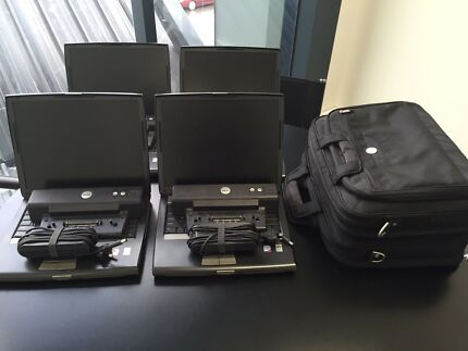 4 Dell Latitude laptops