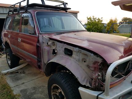 80 series Landcruiser wrecking