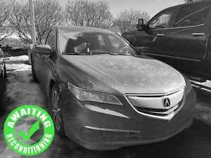 2015 Acura TLX V6 SH-AWD w/Tech| Sun| Nav| Heat Lth| Safety Pkg|