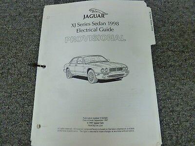1998 Jaguar XJ XJR XJ8 L Vanden Plas Sedan Electrical Wiring Diagram Manual
