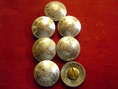 Mexican UnPeso Pair Real Coin 72/% Silver Conchos 1930/'s-40/'s Post and Screw