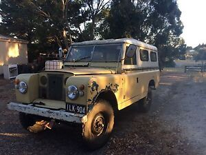 1968 Land Rover (4X4) Wagon Whittlesea Whittlesea Area Preview