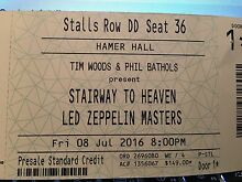 stairway to heaven led zeppelin Melbourne Hamer Hall Newport Hobsons Bay Area Preview