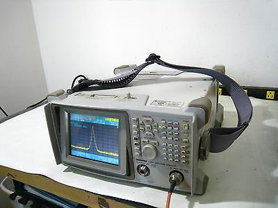Advantest U3641 Portable Battery Pwd Spectrum Analyzer Tracking Generator 3 Ghz
