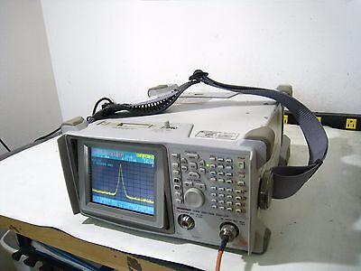Advantest U3641 Portable Battery Pwd Spectrum Analyzer Tracking Generator 3 Ghz