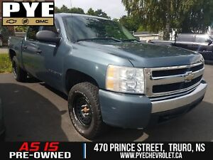 2007 Silverado 1500 SILVERADO CREW CAB 4WD - AS IS!