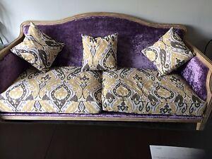 Brand new oak framed sofa