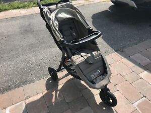CITY MINI GT STROLLER, PRAM & GRACO SNUGRIDE 30 WITH ACC