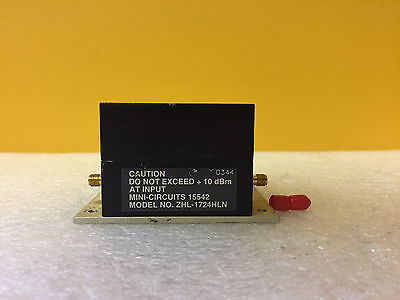 Mini-circuits Zhl-1724hln 1700 To 2400 Mhz 36 Db Gain Coaxial Amplifier Tested