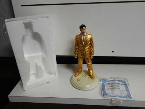 ELVIS PRESLEY Statue BRADFORD EXCHANGE Sculpture