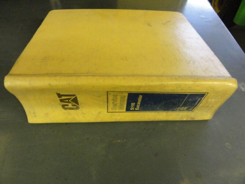 Caterpillar 5110 Excavator Service Manual  7GN 8HN