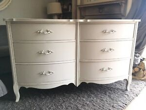 Delivery - antique French country dresser refinished