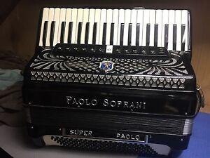 Super Paolo soprano casotto  profettional piano accordion Bondi Eastern Suburbs Preview