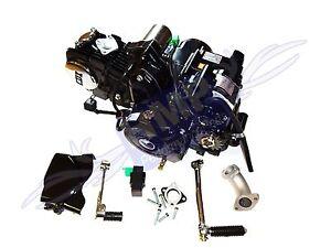 HMParts - Pit Bike / Monkey  Motor SET - Lifan 125 ccm - 1P54FMI - Anlasser oben