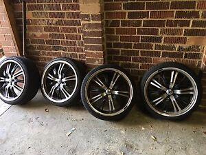 "4x19"" wheels brand new tyres! $600 Nunawading Whitehorse Area Preview"