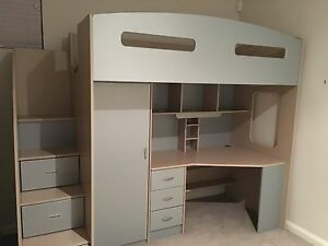Odyssey Space Saver Loft Bed Scarborough Stirling Area Preview