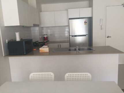 Full furnished Master  room of new apartment for rent, toilet inside