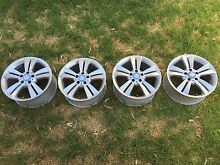 Mercedes Benz genuine factory 17 inch alloy wheels Henley Beach Charles Sturt Area Preview