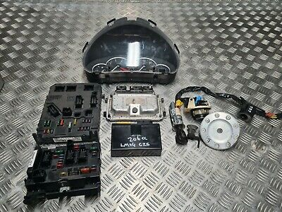 Peugeot 206 S 2004 1.6 petrol ignition barrel key transponder engine ecu kit