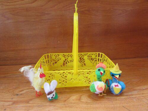 Vintage Plastic Easter Basket