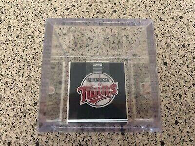 Minnesota Twins World Series Championship MLB Baseball Ring Custom Display Case (Minnesota Twins Display Case)