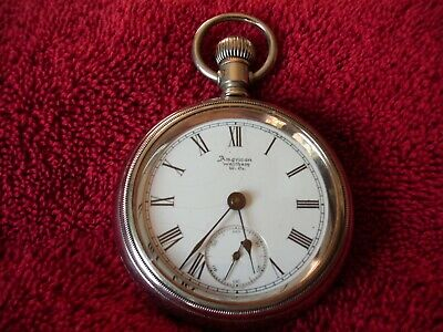 Antique Waltham 1891 18S Grade 3 11 Jewel Pocket Watch Serviced Running