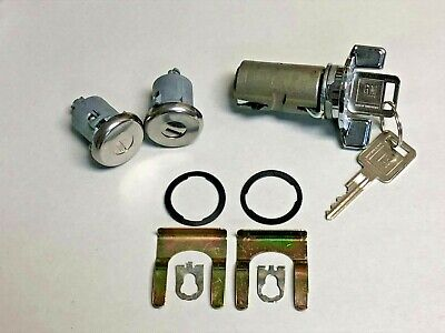 NEW 1979 1980 1981 Chevelle & Malibu Door & Ignition Lock set with late GM keys 1980 Chevrolet Malibu Door