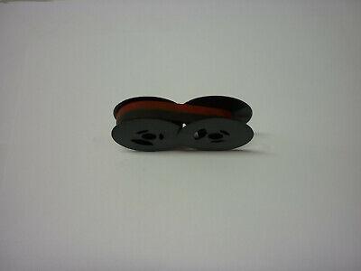 Adler Tippa Typewriter Ribbon Blkred Twin Spool Made In America