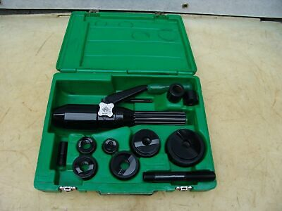 Greenlee 7804sb Quick Draw Hydraulic Punch Driver 12 To 2 Inch Works Fine 31